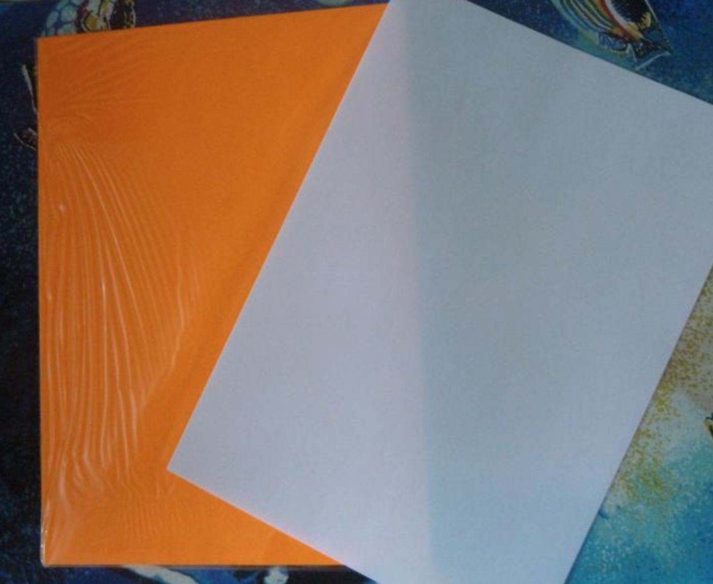 Как сделать самому самоклеющуюся бумагу для